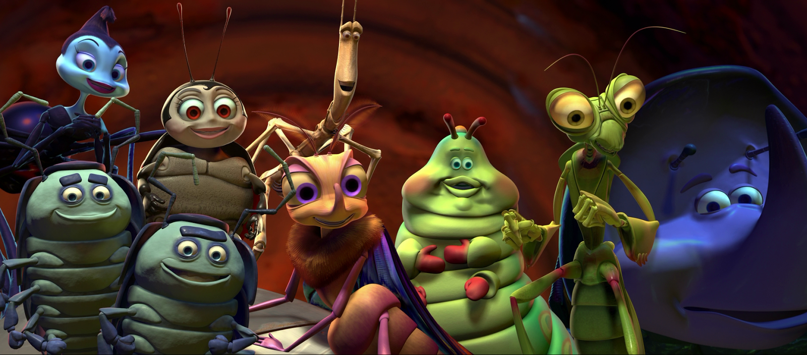 1998    Flik is an ant A Bugs Life Characters